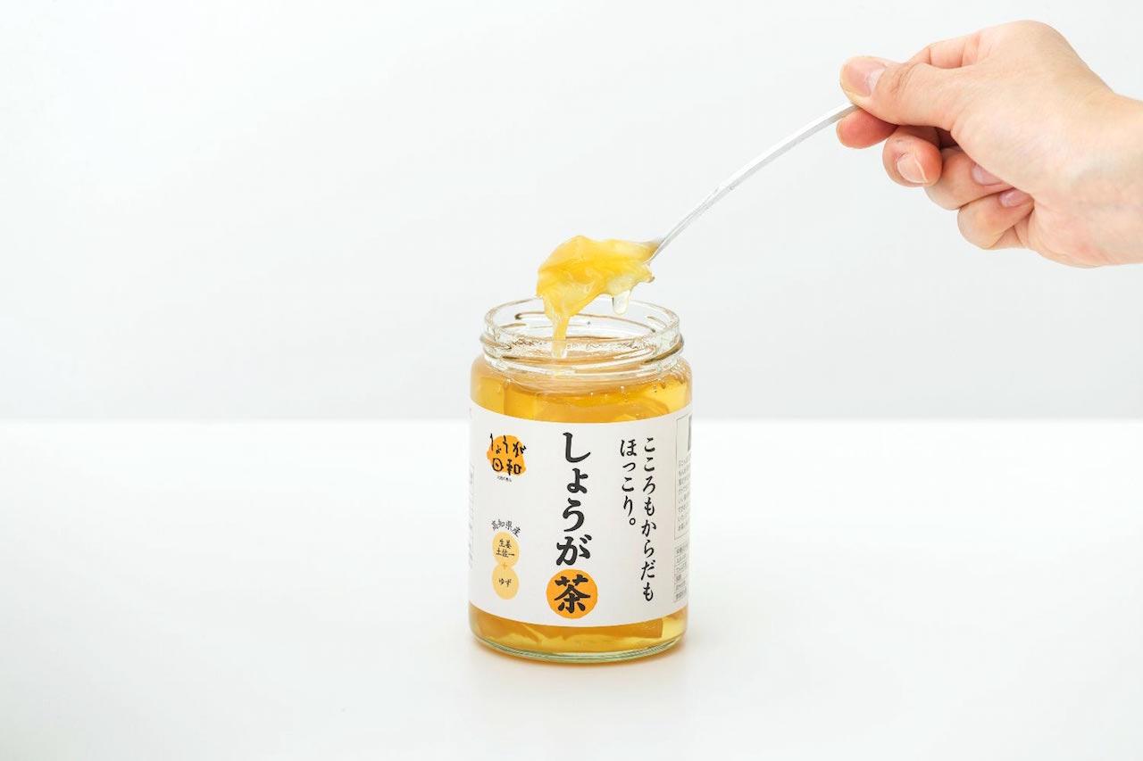 旭食品_しょうが茶2